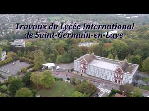 Travaux du Lycée international de Saint-Germain-en-Laye