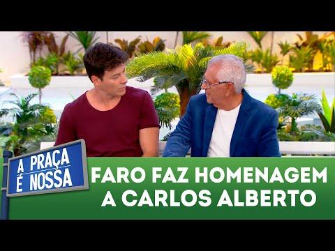 Rodrigo Faro presta homenagem a Carlos Alberto | A Praça é Nossa (12/04/18)