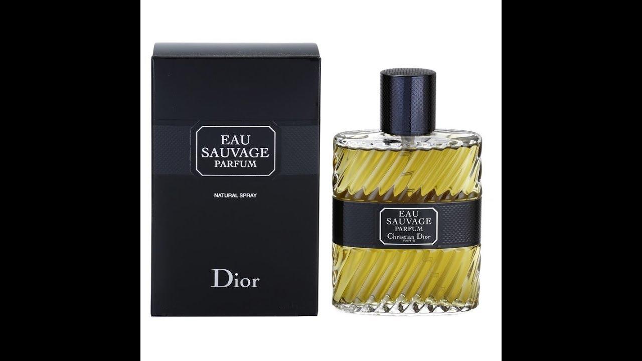 Eau Sauvage Parfum By Christian Dior 2011 Youtube