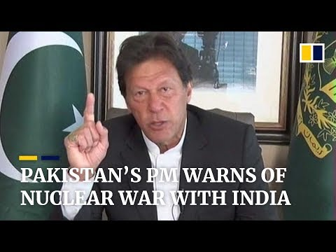 Pakistan's prime minister warns of possible nuclear war with India