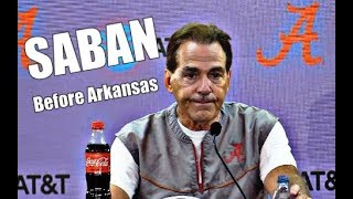 Alabama Crimson Tide Football: Nick Saban on Daniel Wright is suspended, upset with student section