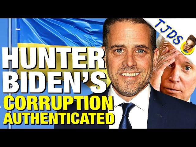 Hunter Biden's Laptop Authenticated Despite Media Cover-Up