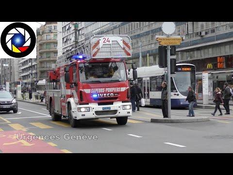 Pompiers Genève Echelle 24 // Ladder 24 Geneva