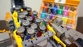 ギガガブリンチョ!獣電竜ブラギガス 獣電池装填遊びレビュー 超カミツキ変形 DXギガントブラギオー / DX Gigant Bragi-Oh Set the Batteries Review