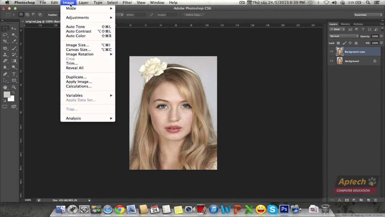 Hướng dẫn tạo ảnh vẽ chì bằng Photoshop