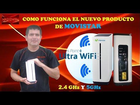 COMO FUNCIONA EL ULTRA WI FI DUAL BAND DE MOVISTAR-HFC CATV