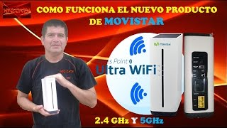 COMO FUNCIONA EL SMART WIFI O  ULTRA WI FI DUAL BAND DE MOVISTAR-HFC CATV