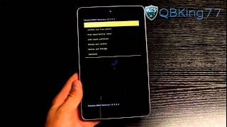 How to Install Paranoid Android JB Rom on the Google Nexus 7