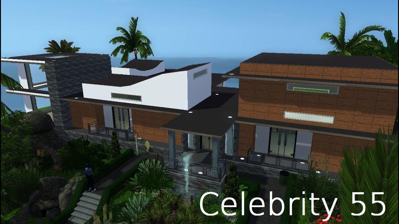SIMS 3: Celebrity Beach House (Modern Design)like the ...