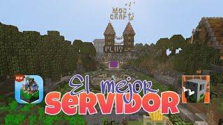 ¡EL MEJOR SERVIDOR! 👊🏻❤ | #ModCraft Review | Andres Games