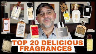 Top 20 Delicious Fragrances | What Are Your Favorite Delicious Perfumes? 🍦 🍰 🎂 🍮 🍭  🍫  🍩 🍪