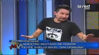 Felipe Avello cuenta un chiste erótico
