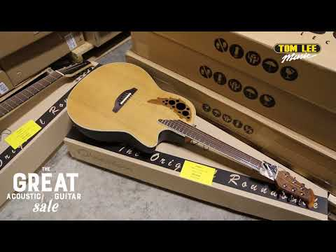 The Great Acoustic Guitar Sale 2018