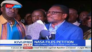 """""""Uhuru Kenyatta was not validly and constitutionally elected as President"""" Advocate James Orengo"""