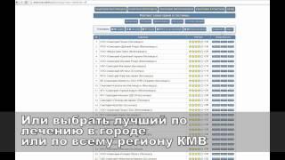 Рейтинг санаториев Кисловодска Кисловодска Ессентуки Железноводска и Кавминвод(, 2015-04-01T14:21:39.000Z)