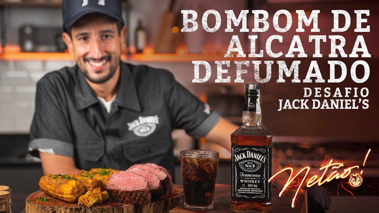 Bombom de Alcatra defumado – Desafio Jack Daniel's! | Netão! Bom Beef #107