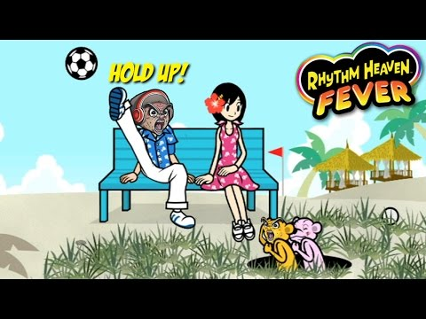 THESE BALLS TRYNA F#%K MY DATE UP!! [RHYTHM HEAVEN FEVER] [Wii]