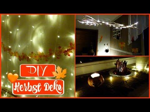 DIY Herbst Deko