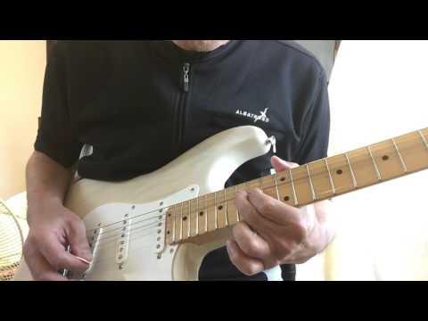 ギターKARAOKE動画20160730  /guitar backing track / adlib /improvisation