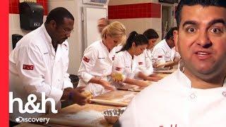 Los mejores y peores aprendices de pastelero | El desafío de Buddy | Discovery H&H