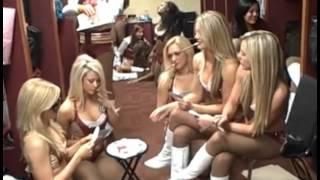 2015 Washington Redskins Cheerleaders get naked in locker room