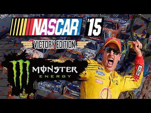 LIVE MONSTER ENERGY NASCAR '15