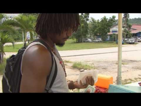 DOUBLES in Chaguaramas, Trinidad