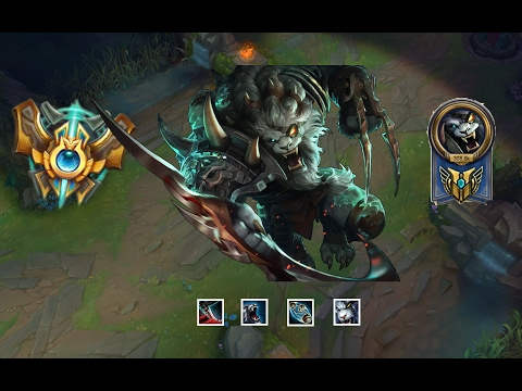 Rengar Montage  😃 - Best Rengar Plays Compilation 2017 (League of Legends)
