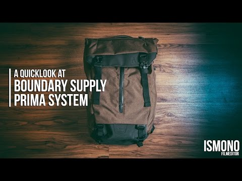 Daypack + Camerabag = ? Quicklook at Boundary Supply Prima System
