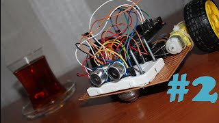 """ Arduino İle Engelden Kaçan Robot v 1.00 "" 2. Bölüm - LRT ( 720p)"