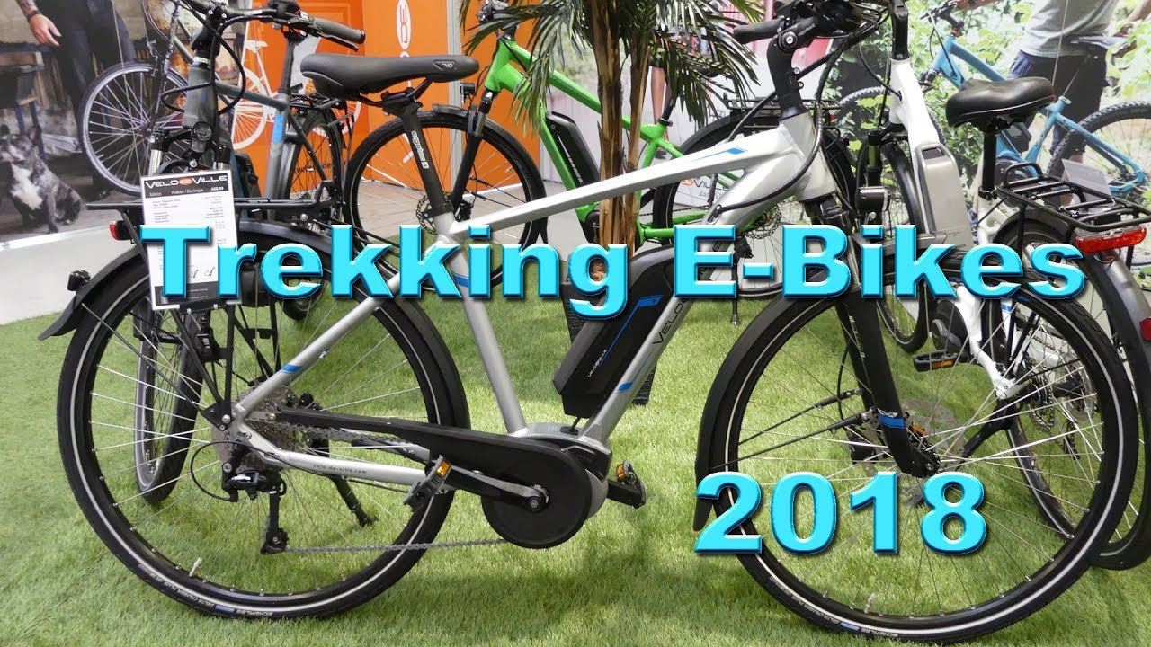 trekking e bikes 2018 von velo de ville youtube. Black Bedroom Furniture Sets. Home Design Ideas