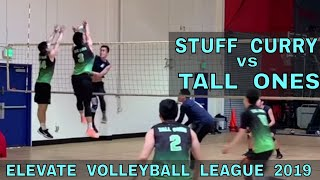 Stuff Curry vs Tall Ones | EVL 4 - Pool Play 2 (Elevate Volleyball League 2019)