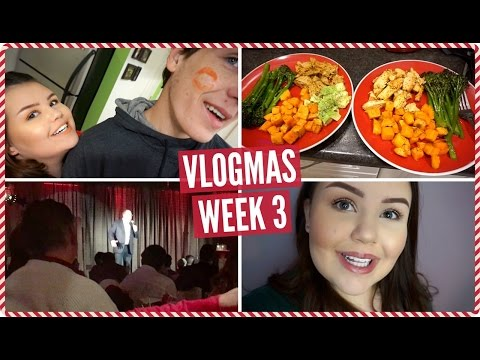 Christmas Party, So Much Cooking, Getting a Puppy?! | Weekly Vlogmas #3