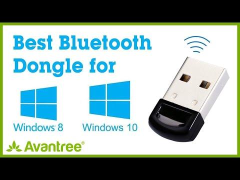 Avantree Bluetooth Adapter for PC - Plug & Play on Windows 10, 8 - Music, Call, Phone, Keyboard