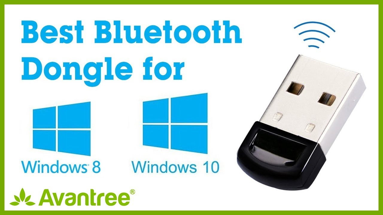 Avantree Bluetooth Adapter for PC - Plug & Play on Windows 10, 8 - Music,  Call, Phone, Keyboard