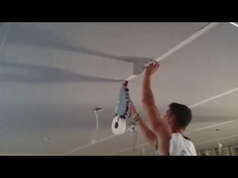 www.konnstruct.com.au Plastering ceiling. Tape installation. Plasterer Melbourne.