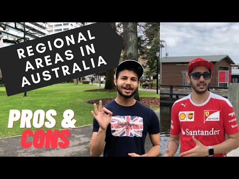 Regional Areas In AUSTRALIA Benefits - Pros And Cons | Indian Students | Perth 2020