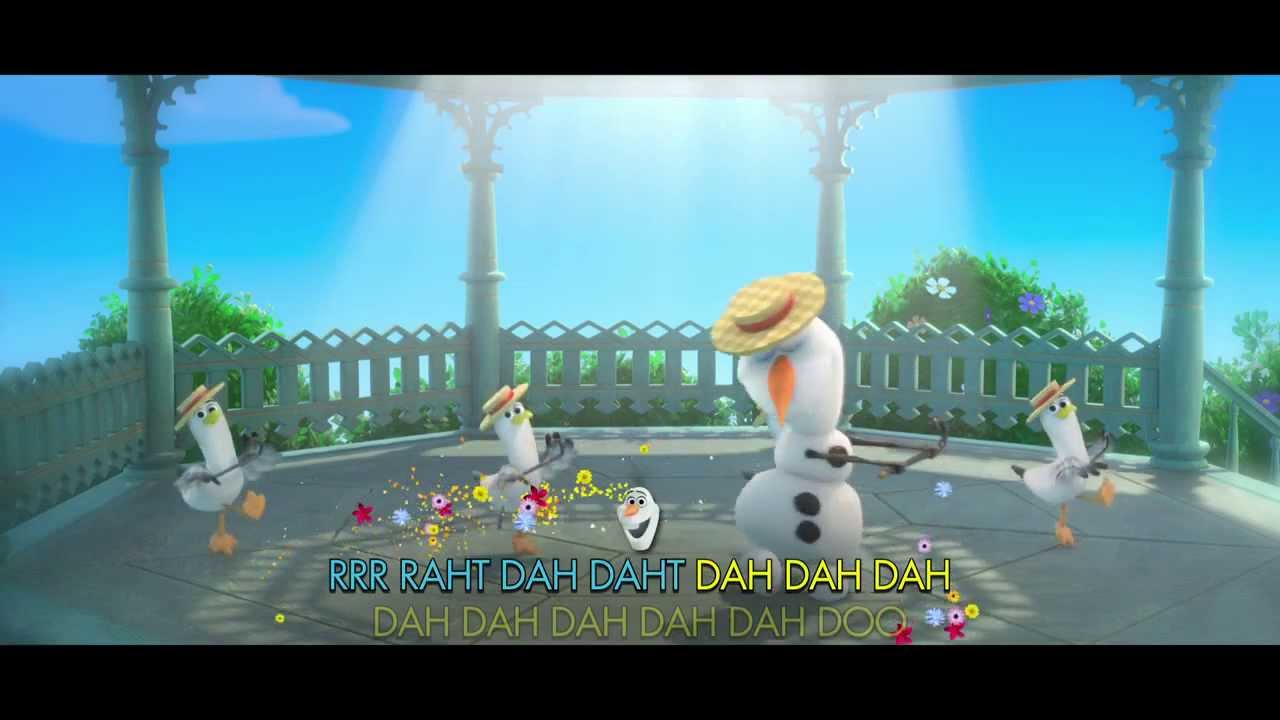 """Disney's Frozen: """"In Summer"""" Song - Singalong with Olaf (In ..."""