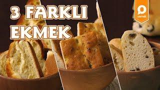 3 Farklı Ekmek Tarifi -  Onedio Yemek - Kahvaltı Tarifleri