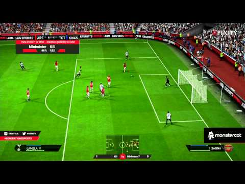G3 Live: Miniminter V KSIO - FIFA 14 200M Coin Wager Match