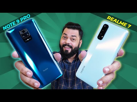 realme 7 Vs Redmi Note 9 Pro Full Comparison ⚡⚡⚡ Camera, Display, Performance & More
