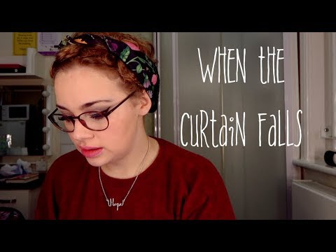 When The Curtain Falls | ANNOUNCEMENT
