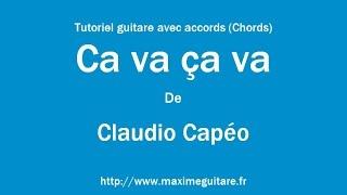 Ça va ça va (Claudio Capéo) - Tutoriel guitare avec accords (Chords)