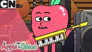 Apple & Onion | Must Protect The Instruments | Cartoon Network UK