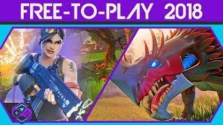 Top Best Free-to-Play Games - 2018