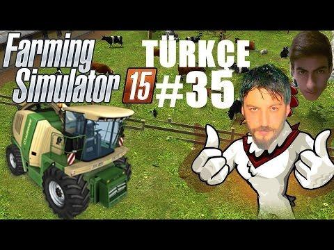 Farming Simulator 15 Türkçe Multiplayer | Ver Gazı | Bölüm 35