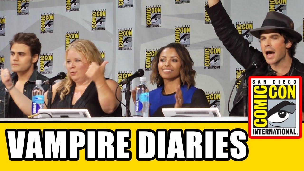 Download THE VAMPIRE DIARIES Comic Con Panel