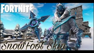 Fortnite SnowFoot Skin Gameplay