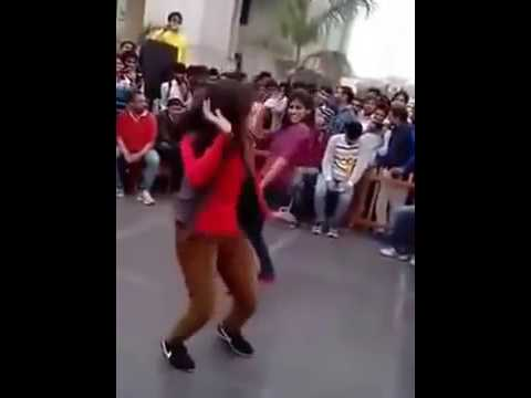 Indian College Girl Street Dance at Haryanvi Song Video and Viral Videos