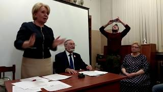 Фрязино Эмилия Слабунова про закрытие Библиотеки основное